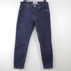 Everlane High Rise Straight Ankle Jeans 27